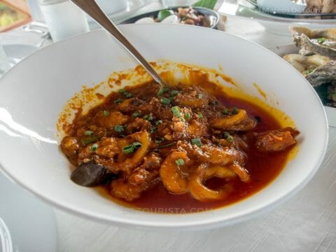 Seafood Curry at Cafe Terraza, Roxas City, Capiz, Philippines