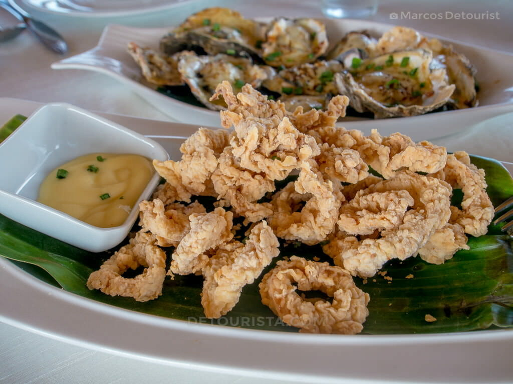 Calamares at Cafe Terraza, Roxas City, Capiz, Philippines