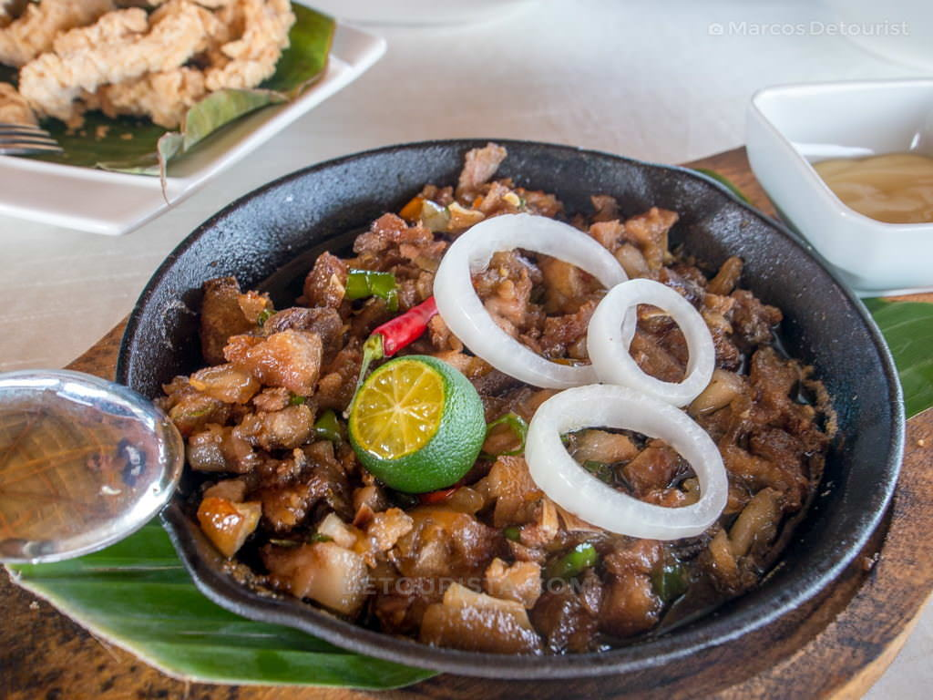 Sisig at Cafe Terraza, Roxas City, Capiz, Philippines