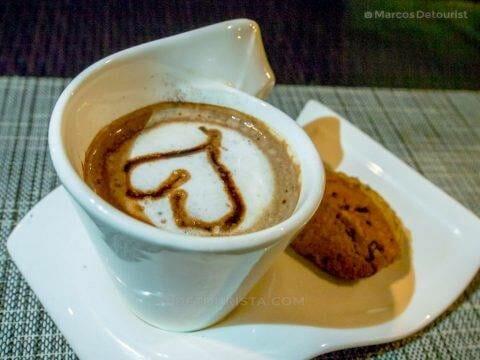 Coffee at Cafe Terraza, Roxas City, Capiz, Philippines