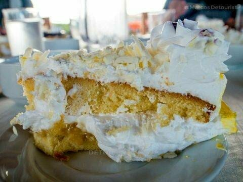 Tres Leches Cake at Cafe Terraza, Roxas City, Capiz, Philippines