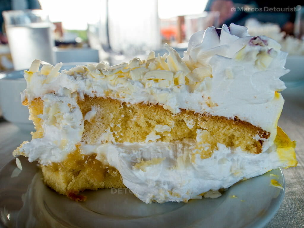 Tres Leches Cake at Cafe Terraza, Roxas City, Capiz, Philippines