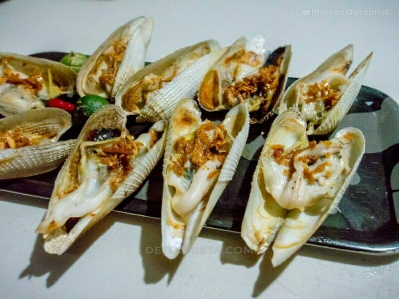 Diwal - Dinner at Alma's Seafood Restaurant, Roxas City, Capiz, Philippines