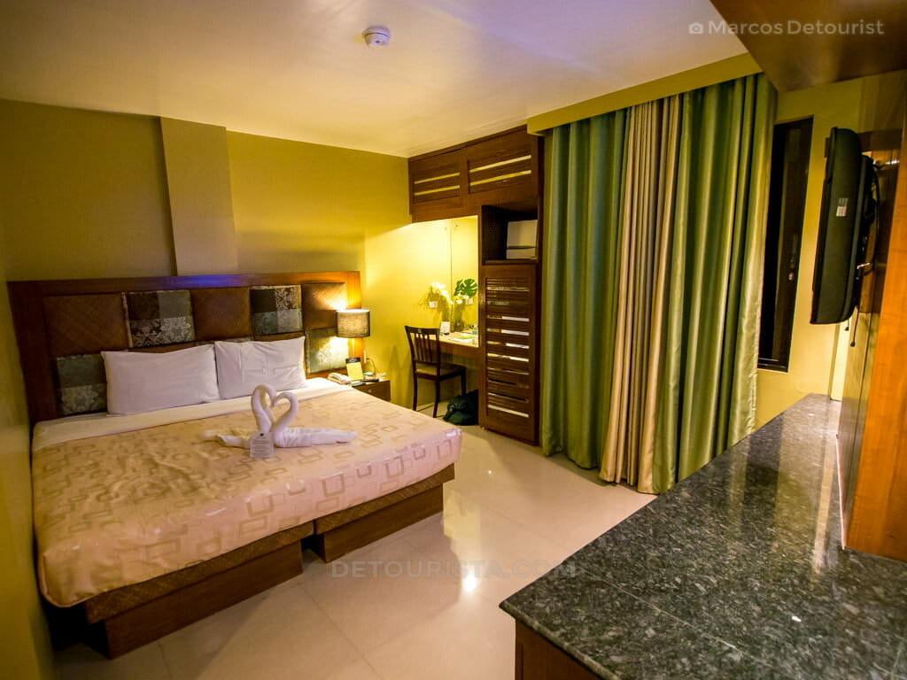 Room at Urban Manor Hotel, Roxas City, Capiz, Philippines