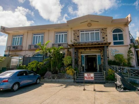 Front view of Hotel Veronica, Roxas City, Capiz, Philippines