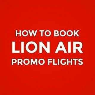 Lion Air Promo & Onling Booking Guide