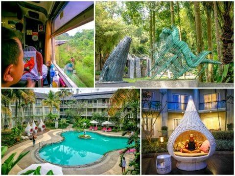 Jakarta-Bandung Train, NuArt, Sheraton Bandung Hotel