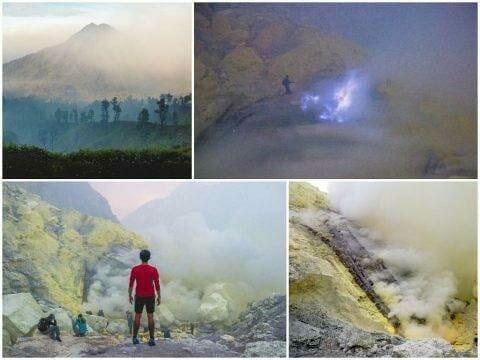 Mount Ijen via Bali — Sunrise Hike, Blue Flame, Sulfur Mine, Licin Village