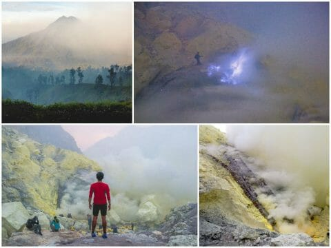 Mount Ijen via Bali — Sunrise Hike, Blue Flame, Sulfur Mine, Licin Village