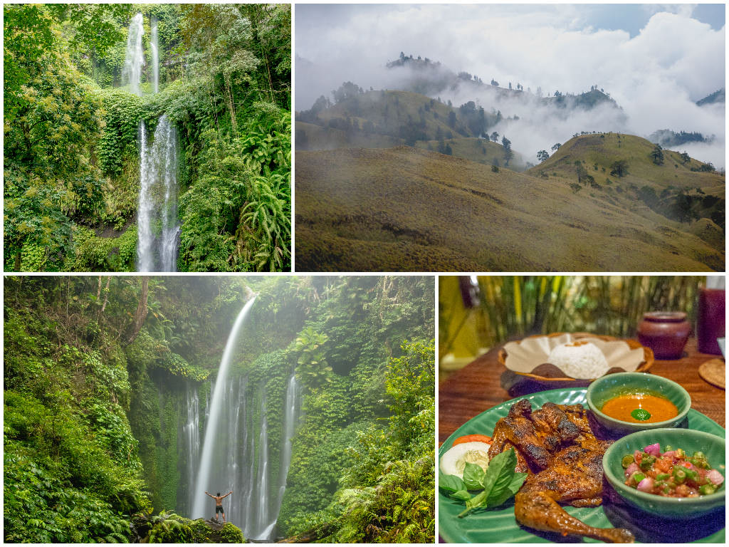 Lombok (Part 1of2) — Senaru, Waterfalls, Mount Rinjani Trek Day 1, Mataram, Lembar