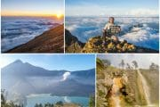Lombok (Part 2of2) — Mount Rinjani Summit Trek Day 2&3, Crater Lake, Hot Springs, Sembalun