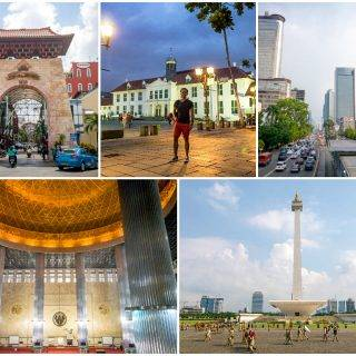 Jakarta 2016 — Central Jakarta, Pasar Baru, Glodok Chinatown, Kota Tua