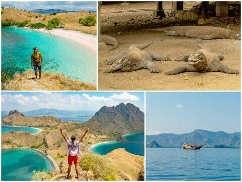 Komodo Islands Speedboat Tour — Padar, Rinca, Komodo, Kanawa, Kelor Islands
