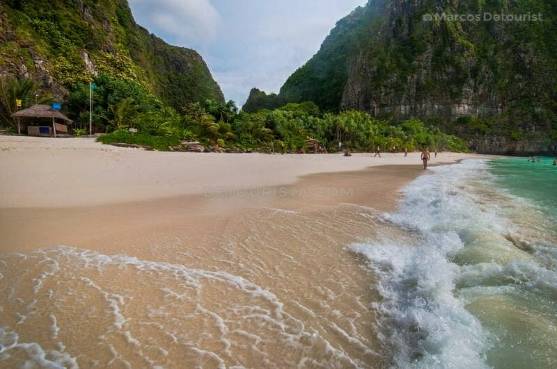 """The Beach"" of Ko Phi Phi Leh (island) in Krabi, Thailand"