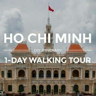 1-Day Ho Chi Minh Itinerary — Saigon DIY Walking Tour