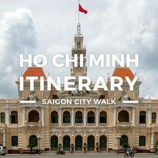 Ho Chi Minh Itinerary – 1 Day Saigon Budget Trip
