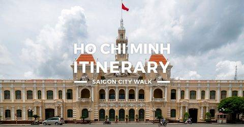 Ho Chi Minh Itinerary – 1 Day Saigon Tour
