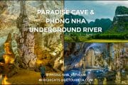 Paradise and Phong Nha Caves in Central Vietnam