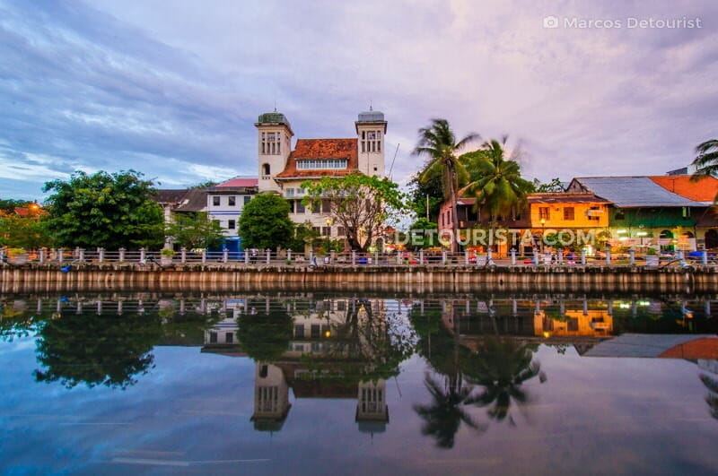 Dutch-colonial buildings in Kota Tua (Batavia Old Town), Jakarta, Indonesia