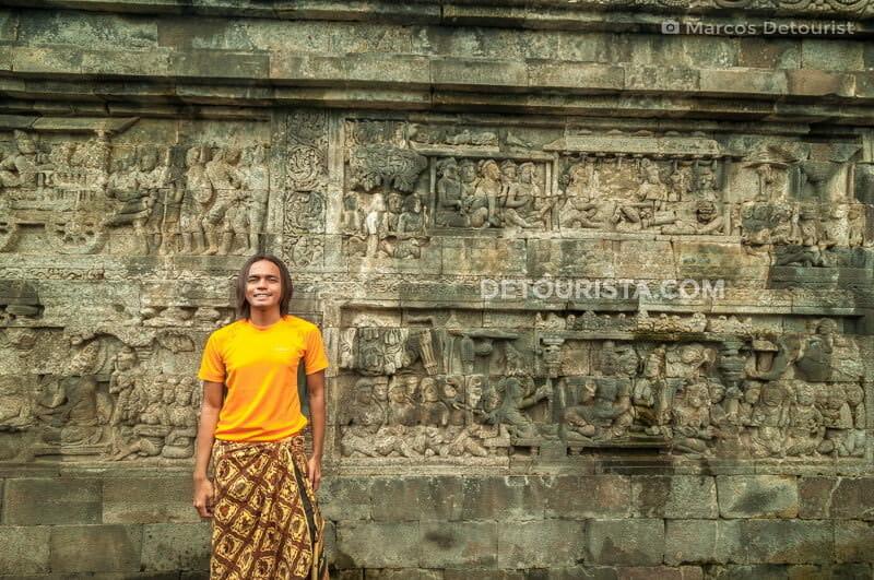Marcos at Borobudur Temple Complex