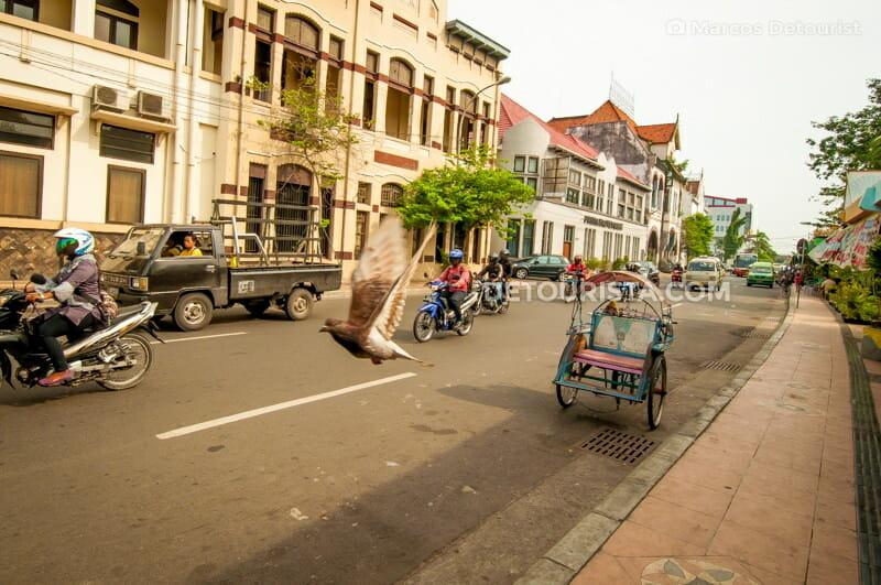 Surabaya Dutch-colonial heritage buildings in Surabaya, East Java, Indonesia