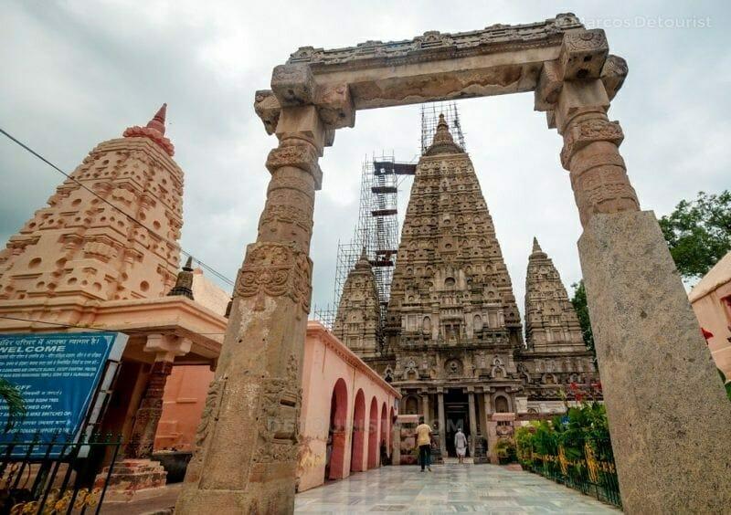 Mahabodhi Temple in Bodghaya, Bihar, India