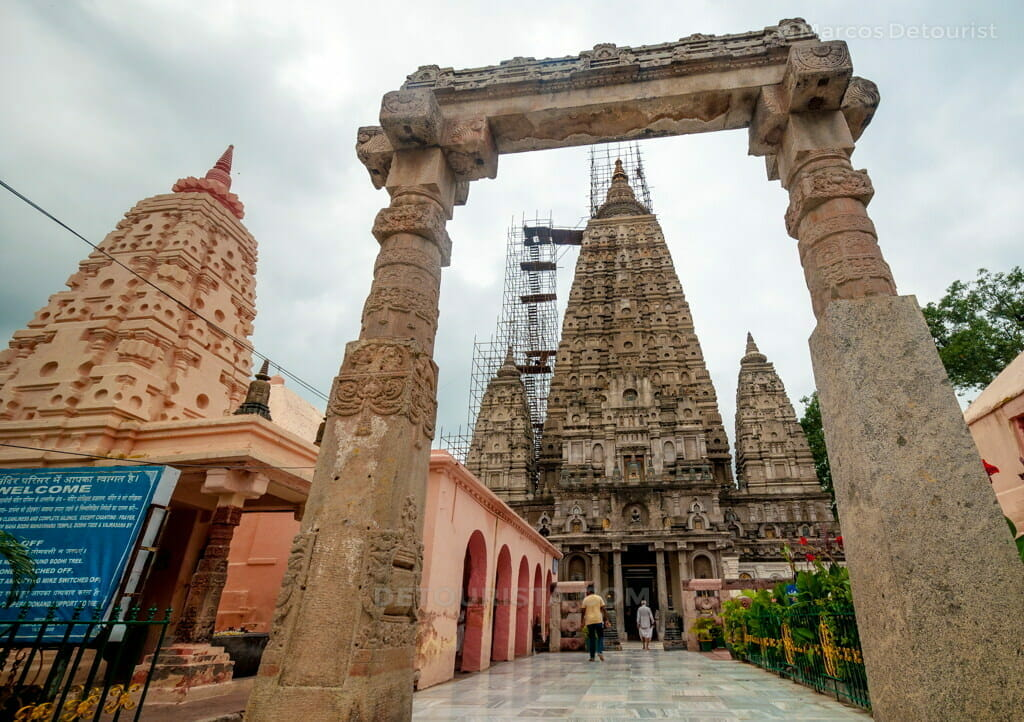 Mahabodhi Temple in Bodghaya