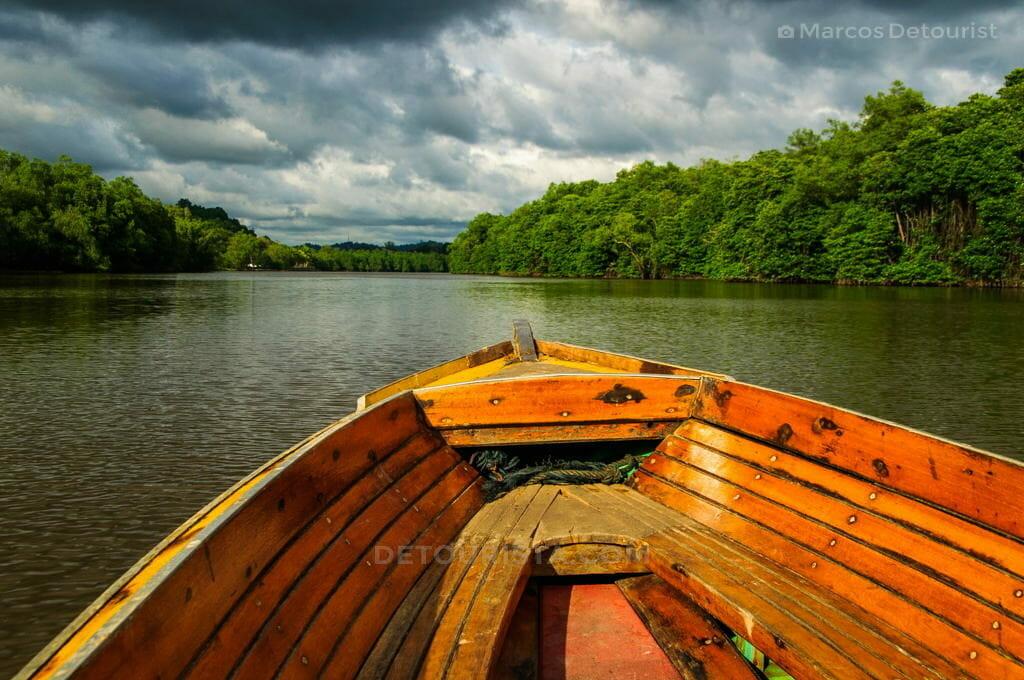 Brunei River Boat Ride