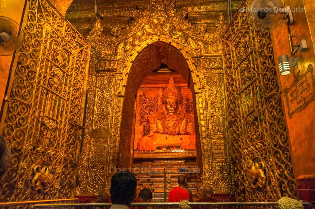 Mandalay Golden Buddha