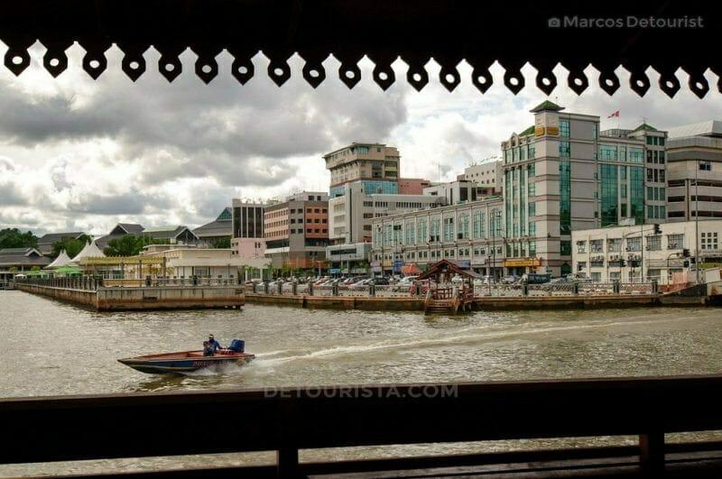 Waterfront of Bandar Seri Begawan city center.