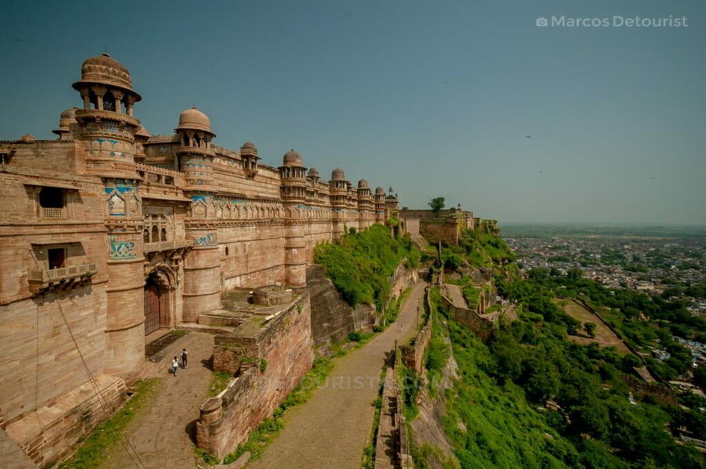 Gwalior Fortress in Gwalior