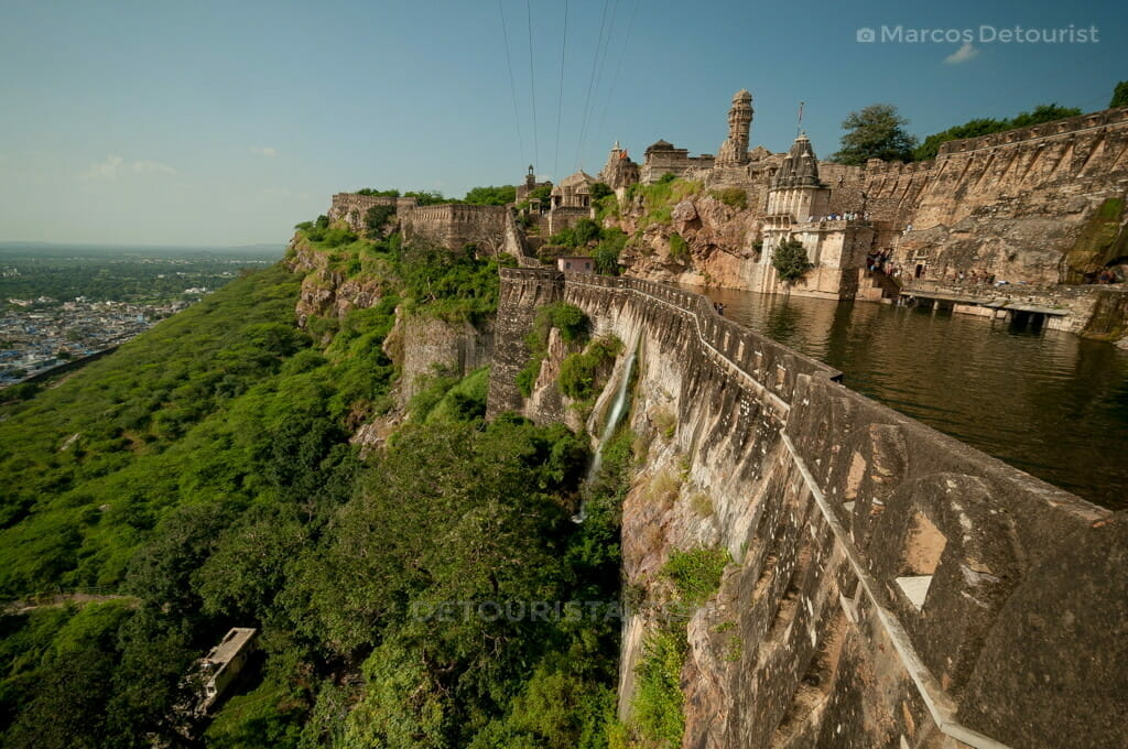 Gaumukh Reservoir in Chittorgarh Fort