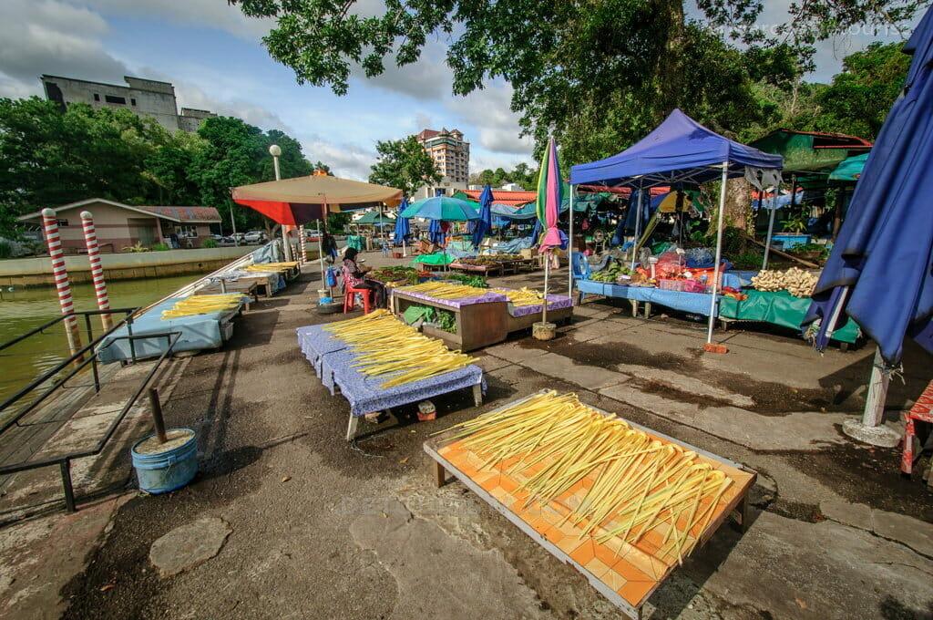 Kianggeh Market in Bandar Seri Begawan