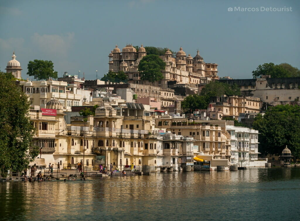 Lakeside view in Udaipur