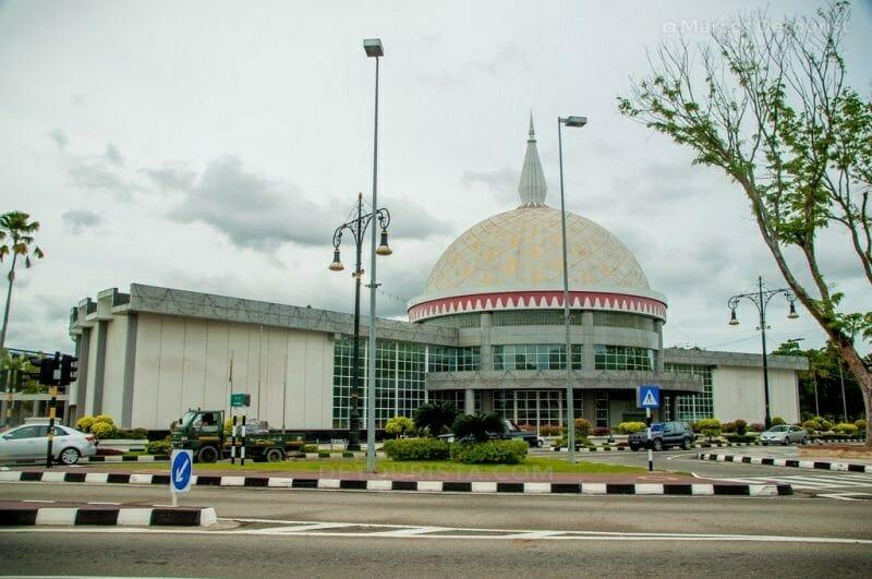 Royal Regalia Museum in Bandar Seri Begawan, Brunei