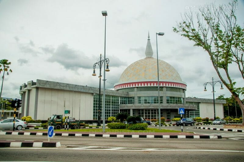 Royal Regalia Museum in Bandar Seri Begawan, Brunei