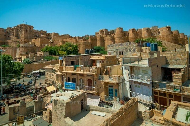 Jaisalmer Fortress in Jaisalmer, Rajasthan, India