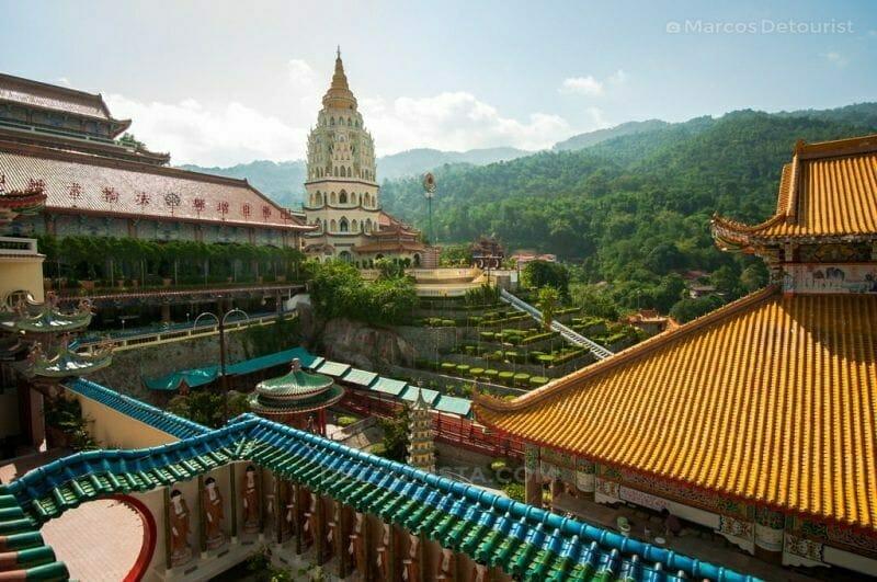 Kek Lok Si (Buddhist temple) near Georgetown in Penang, Malaysia