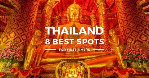 Thailand – 8 Best Places To Visit & How To Get There