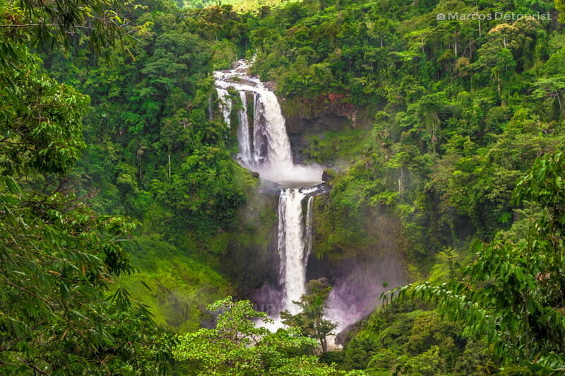 Limunsudan Falls overlooking view
