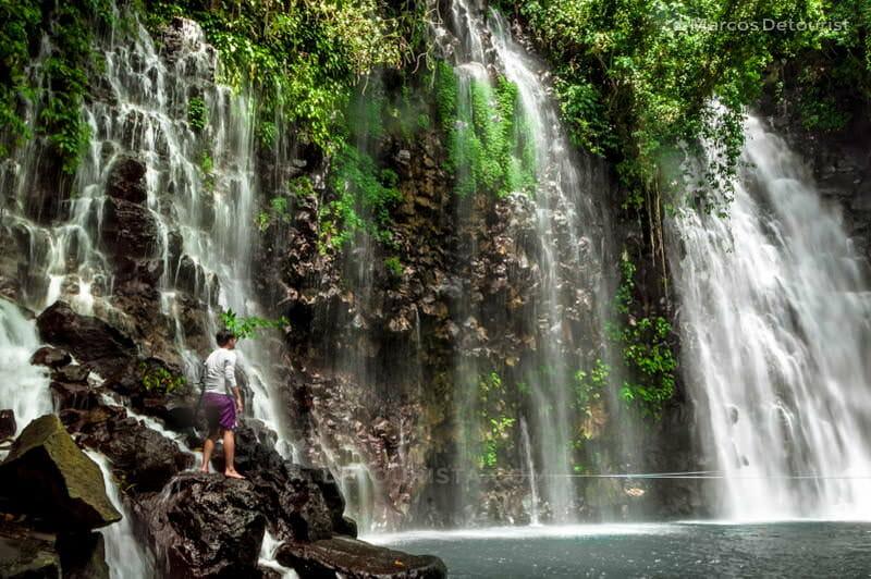 Tinago Falls main cascade