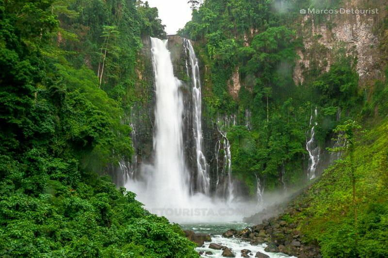 Maria Cristina Falls  full view