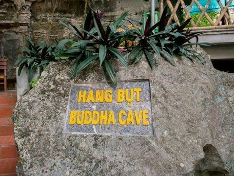 Hang But Buddha Cave, in Mua Caves Eco Lodge, Ninh Binh, Vietnam, on September 2015