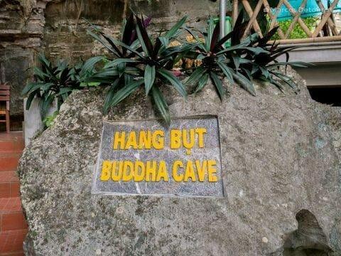 Hang But Buddha Cave, in Mua Caves Eco Lodge, Ninh Binh, Vietnam, on September 2015
