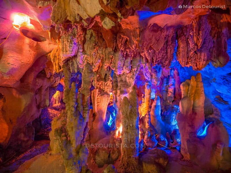 Inside Hang But (cave), in Mua Caves Eco Lodge, Ninh Binh, Vietnam, on September 2015