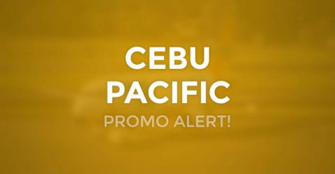 Cebu Pacific P25 Anniversary Promo for March to December 2021 Travel