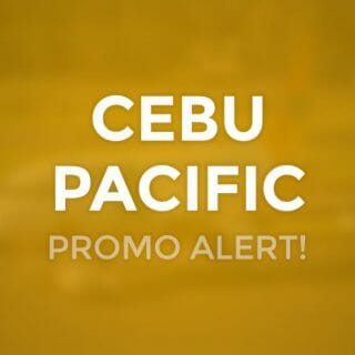 Cebu Pacific 99 PROMO on ALL flights