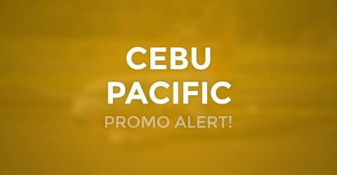 ALL FLIGHTS Included! Cebu Pacific 2020 New Year Promo