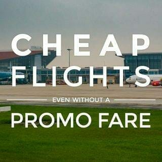 Search and Book the Cheapest Flights Without a Promo Fare