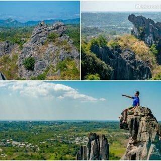Lioness Rock and Rhino Rocks